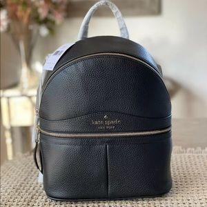 KATE SPADE Medium Karina backpack black NWT